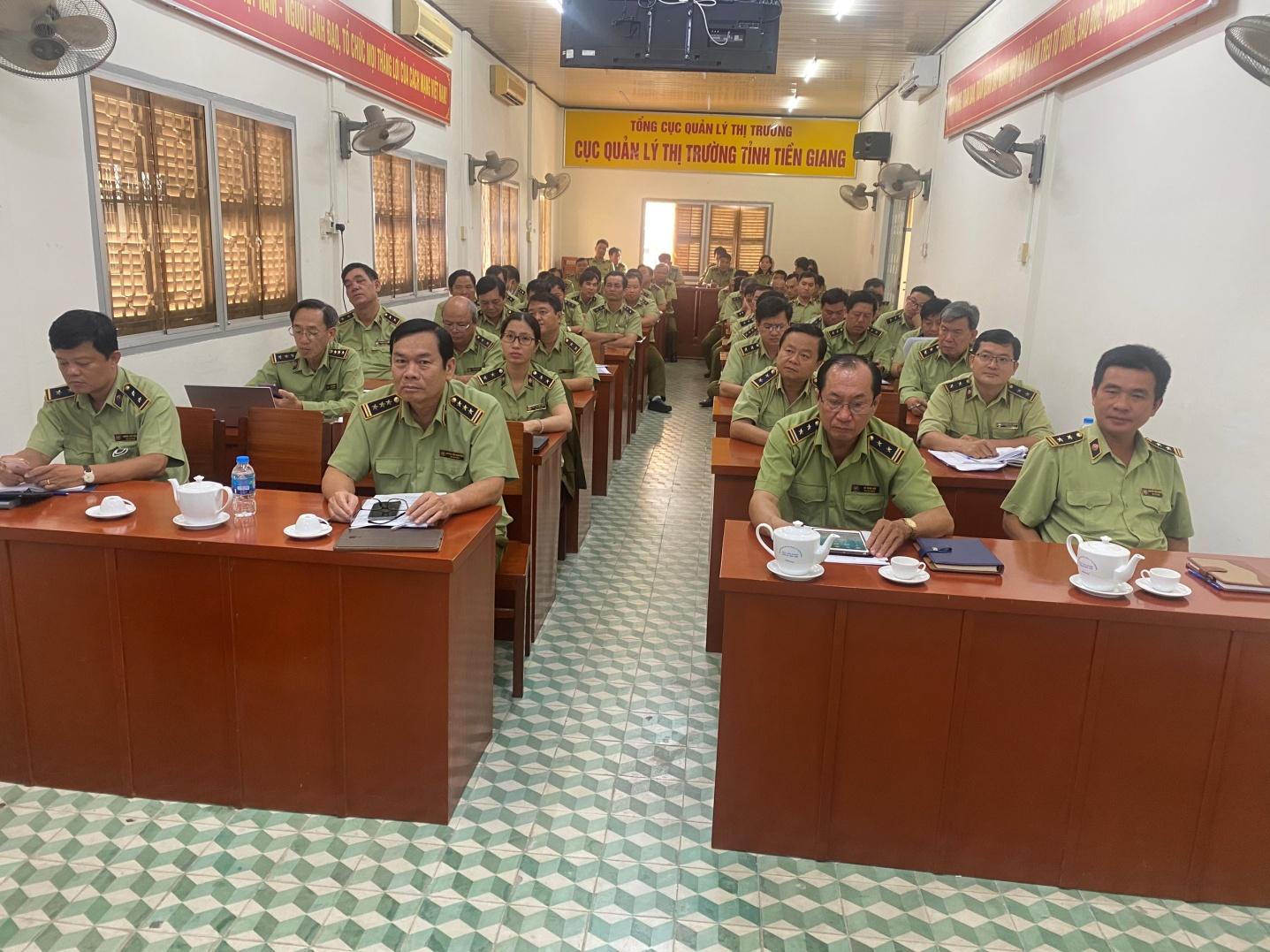 Cục Quản lý thị trường tỉnh Tiền Giang tổ chức Hội nghị triển khai Thông tư số 54/2020/TT-BCT ngày 31/12/2020 của Bộ trưởng Bộ Công Thương