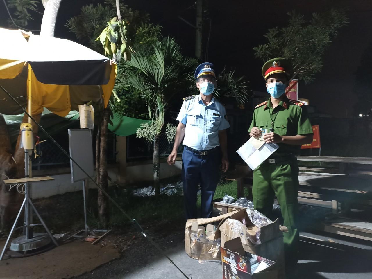 Phát hiện hàng hóa nhập lậu tại huyện Chợ Gạo, tỉnh Tiền Giang