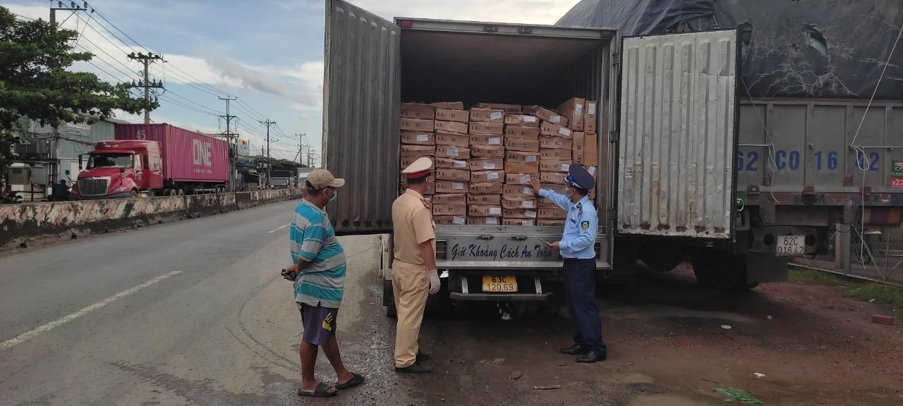 Phát hiện 5 tấn cá nục Trung Quốc không có nhãn phụ được vận chuyển về Tiền Giang tiêu thụ